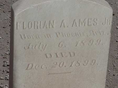 AMES, FLORIAN A, JR - Maricopa County, Arizona | FLORIAN A, JR AMES - Arizona Gravestone Photos