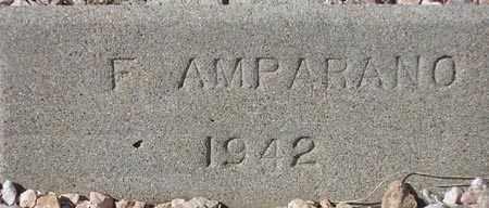 AMPARANO, F. - Maricopa County, Arizona   F. AMPARANO - Arizona Gravestone Photos