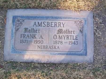 WILLIAMS AMSBERRY, MYRTLE - Maricopa County, Arizona | MYRTLE WILLIAMS AMSBERRY - Arizona Gravestone Photos