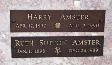 AMSTER, RUTH - Maricopa County, Arizona | RUTH AMSTER - Arizona Gravestone Photos