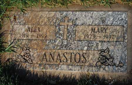 ANASTOS, MARY - Maricopa County, Arizona | MARY ANASTOS - Arizona Gravestone Photos