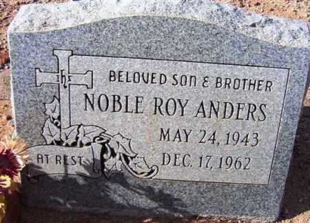 ANDERS, NOBLE ROY - Maricopa County, Arizona | NOBLE ROY ANDERS - Arizona Gravestone Photos