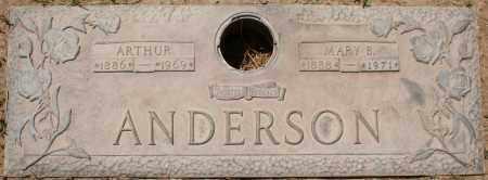 ANDERSON, ARTHUR - Maricopa County, Arizona | ARTHUR ANDERSON - Arizona Gravestone Photos