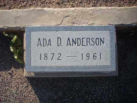READ ANDERSON, ADA - Maricopa County, Arizona | ADA READ ANDERSON - Arizona Gravestone Photos