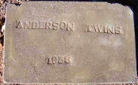 ANDERSON, BABY BOY (TWIN) - Maricopa County, Arizona | BABY BOY (TWIN) ANDERSON - Arizona Gravestone Photos