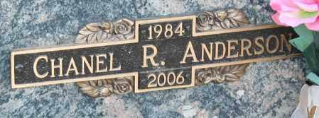 ANDERSON, CHANEL R - Maricopa County, Arizona | CHANEL R ANDERSON - Arizona Gravestone Photos