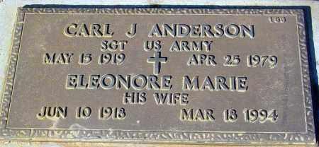 ANDERSON, ELEONORE MARIE - Maricopa County, Arizona   ELEONORE MARIE ANDERSON - Arizona Gravestone Photos