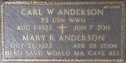 ANDERSON, CARL W. - Maricopa County, Arizona | CARL W. ANDERSON - Arizona Gravestone Photos