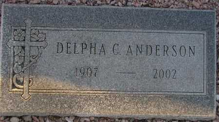 ANDERSON, DELPHA C. - Maricopa County, Arizona | DELPHA C. ANDERSON - Arizona Gravestone Photos