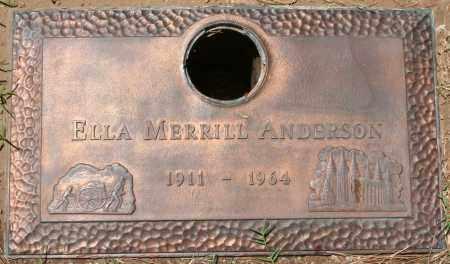 ANDERSON, ELLA - Maricopa County, Arizona | ELLA ANDERSON - Arizona Gravestone Photos