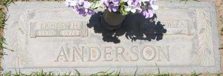 ANDERSON, ERNEST H. - Maricopa County, Arizona | ERNEST H. ANDERSON - Arizona Gravestone Photos