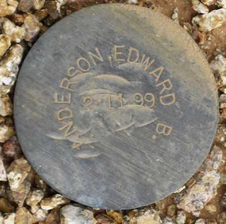 ANDERSON, EDWARD B. - Maricopa County, Arizona | EDWARD B. ANDERSON - Arizona Gravestone Photos