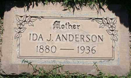 ANDERSON, IDA J - Maricopa County, Arizona | IDA J ANDERSON - Arizona Gravestone Photos