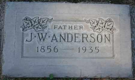 ANDERSON, JAMES W. - Maricopa County, Arizona | JAMES W. ANDERSON - Arizona Gravestone Photos