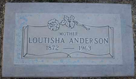 ANDERSON, LOUTISHA - Maricopa County, Arizona | LOUTISHA ANDERSON - Arizona Gravestone Photos