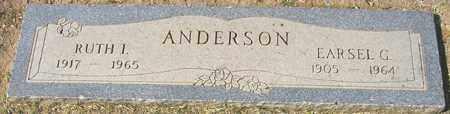 ANDERSON, RUTH E. - Maricopa County, Arizona | RUTH E. ANDERSON - Arizona Gravestone Photos