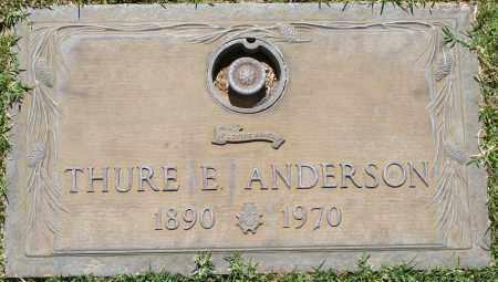 ANDERSON, THURE E - Maricopa County, Arizona | THURE E ANDERSON - Arizona Gravestone Photos