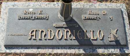 ANDONIELLO, ROCCO A - Maricopa County, Arizona | ROCCO A ANDONIELLO - Arizona Gravestone Photos