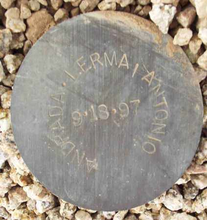 ANDRADA-LERMA, ANTONIO - Maricopa County, Arizona | ANTONIO ANDRADA-LERMA - Arizona Gravestone Photos