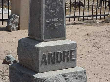 ANDRE, ROBERT G - Maricopa County, Arizona | ROBERT G ANDRE - Arizona Gravestone Photos