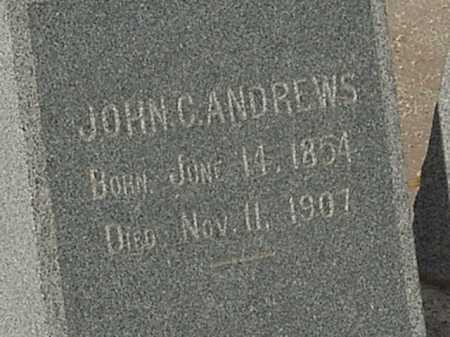 ANDREWS, JOHN C - Maricopa County, Arizona   JOHN C ANDREWS - Arizona Gravestone Photos