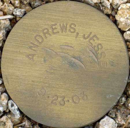 ANDREWS, JESSE - Maricopa County, Arizona | JESSE ANDREWS - Arizona Gravestone Photos