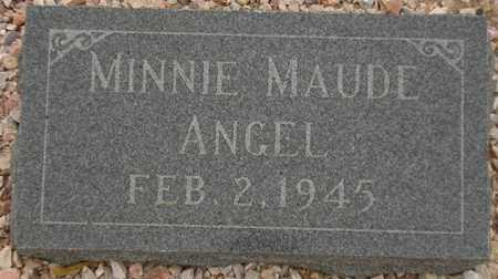 ANGEL, MINNIE MAUDE - Maricopa County, Arizona | MINNIE MAUDE ANGEL - Arizona Gravestone Photos
