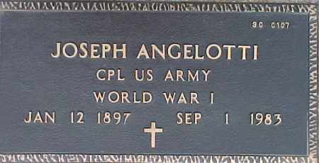 ANGELOTTI, JOSEPH - Maricopa County, Arizona   JOSEPH ANGELOTTI - Arizona Gravestone Photos