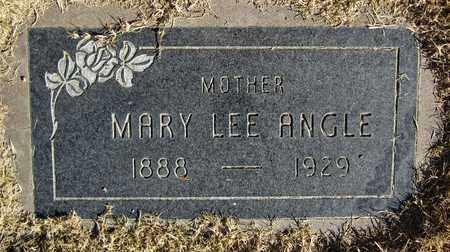 ANGLE, MARY LEE - Maricopa County, Arizona | MARY LEE ANGLE - Arizona Gravestone Photos