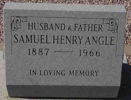ANGLE, SAMUEL HENRY - Maricopa County, Arizona   SAMUEL HENRY ANGLE - Arizona Gravestone Photos
