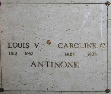 ANTINONE, LOUIS V - Maricopa County, Arizona | LOUIS V ANTINONE - Arizona Gravestone Photos
