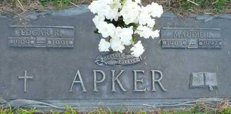 APKER, EDGAR R. - Maricopa County, Arizona | EDGAR R. APKER - Arizona Gravestone Photos