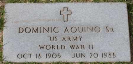 AQUINO, DOMINIC, SR - Maricopa County, Arizona | DOMINIC, SR AQUINO - Arizona Gravestone Photos