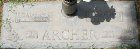 ARCHER, ISAIAH W. - Maricopa County, Arizona | ISAIAH W. ARCHER - Arizona Gravestone Photos