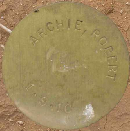 ARCHIE, ROBERT - Maricopa County, Arizona | ROBERT ARCHIE - Arizona Gravestone Photos
