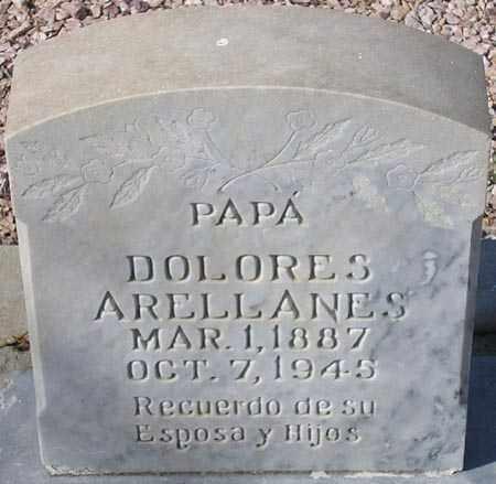 ARELLANES, DOLORES - Maricopa County, Arizona   DOLORES ARELLANES - Arizona Gravestone Photos