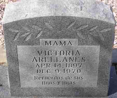 ARELLANES, VICTORIA - Maricopa County, Arizona | VICTORIA ARELLANES - Arizona Gravestone Photos