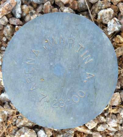 ARENA, MARTIN A. - Maricopa County, Arizona | MARTIN A. ARENA - Arizona Gravestone Photos