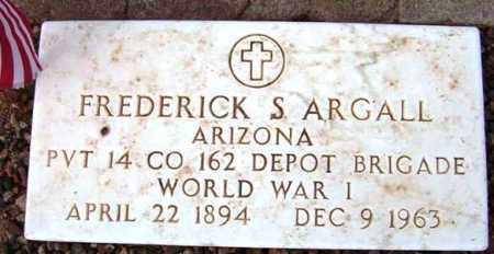 ARGALL, FREDERICK S. - Maricopa County, Arizona   FREDERICK S. ARGALL - Arizona Gravestone Photos