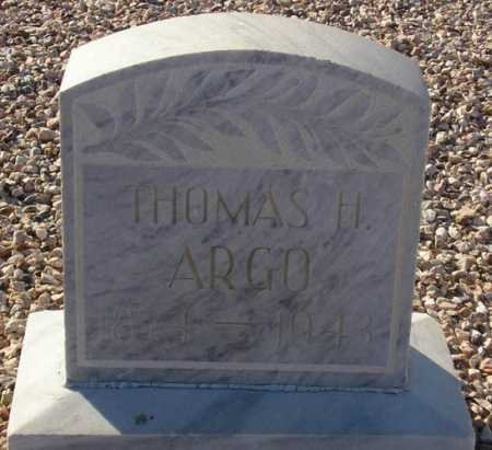 ARGO, THOMAS H. - Maricopa County, Arizona | THOMAS H. ARGO - Arizona Gravestone Photos
