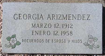 ARIZMENDEZ, GEORGIA - Maricopa County, Arizona | GEORGIA ARIZMENDEZ - Arizona Gravestone Photos
