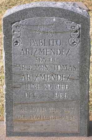 ARIZMENDEZ, PABLITO - Maricopa County, Arizona | PABLITO ARIZMENDEZ - Arizona Gravestone Photos
