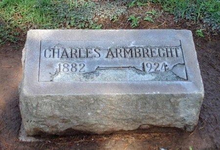 ARMBRECHT, CHARLES - Maricopa County, Arizona | CHARLES ARMBRECHT - Arizona Gravestone Photos