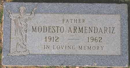 ARMENDARIZ, MODESTO - Maricopa County, Arizona | MODESTO ARMENDARIZ - Arizona Gravestone Photos