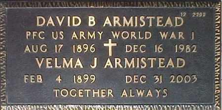 ARMISTEAD, DAVID B - Maricopa County, Arizona   DAVID B ARMISTEAD - Arizona Gravestone Photos