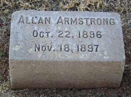 ARMSTRONG, ALLAN - Maricopa County, Arizona   ALLAN ARMSTRONG - Arizona Gravestone Photos