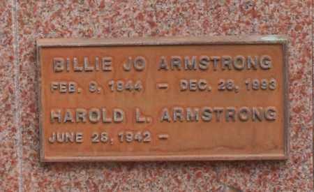 ARMSTRONG, HAROLD L. - Maricopa County, Arizona | HAROLD L. ARMSTRONG - Arizona Gravestone Photos