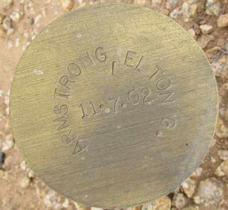 ARMSTRONG, ELTON G. - Maricopa County, Arizona   ELTON G. ARMSTRONG - Arizona Gravestone Photos