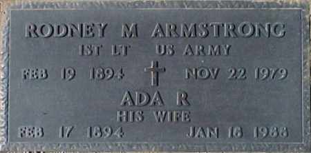 ARMSTRONG, RODNEY M. - Maricopa County, Arizona | RODNEY M. ARMSTRONG - Arizona Gravestone Photos