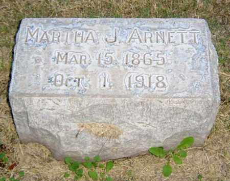 ARNETT, MARTHA JENNIE - Maricopa County, Arizona | MARTHA JENNIE ARNETT - Arizona Gravestone Photos